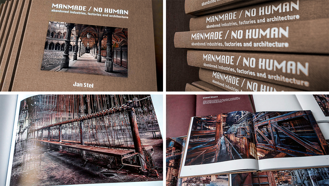 Jan Stel, Manmade /no human photography book